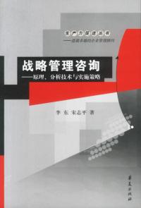 战略管理咨询——原理、分析技术与实施策略
