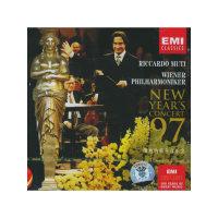 1997年维也纳新年音乐会穆蒂(CD)