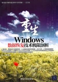 重生 Windows数据恢复技术极限剖析