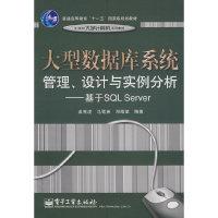 大型数据库系统管理、设计与实例分析--基于SQL Server