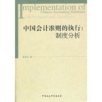 中国会计准则的执行:制度分析