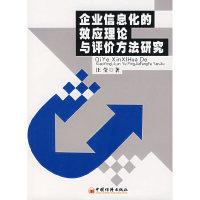 企业信息化的效应理论与评价方法研究