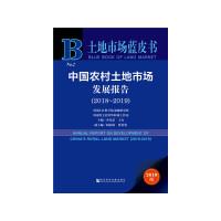 土地市场蓝皮书:中国农村土地市场发展报告(2018~2019)