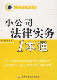 小公司必读丛书小公司法律实务1本通(11)