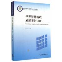 2013-世界贸易组织发展报告