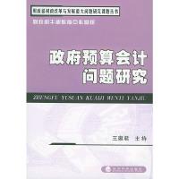 政府预算会计问题研究(财政部财政改革与发展重大问题研究丛书)