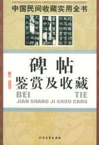 碑帖鉴赏及收藏:中国民间收藏实用全书