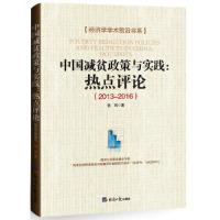中国减贫政策与实践:热点评论(2013-2016)