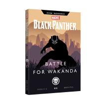 英文原版 漫威超级英雄故事.黑豹 Black Panther: Battle for Wakan
