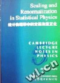统计物理学中的定标和重正化