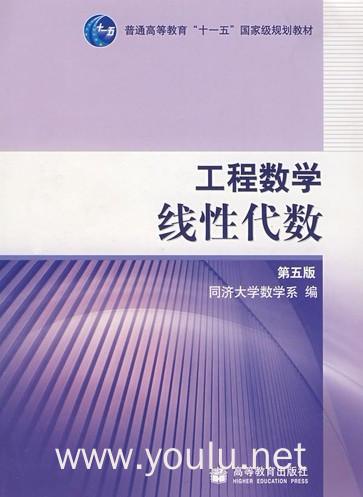 工程数学线性代数(第五版)(几种定价内容一样,随机发货)