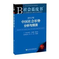 社会蓝皮书:2013年中国社会形势分析与预测